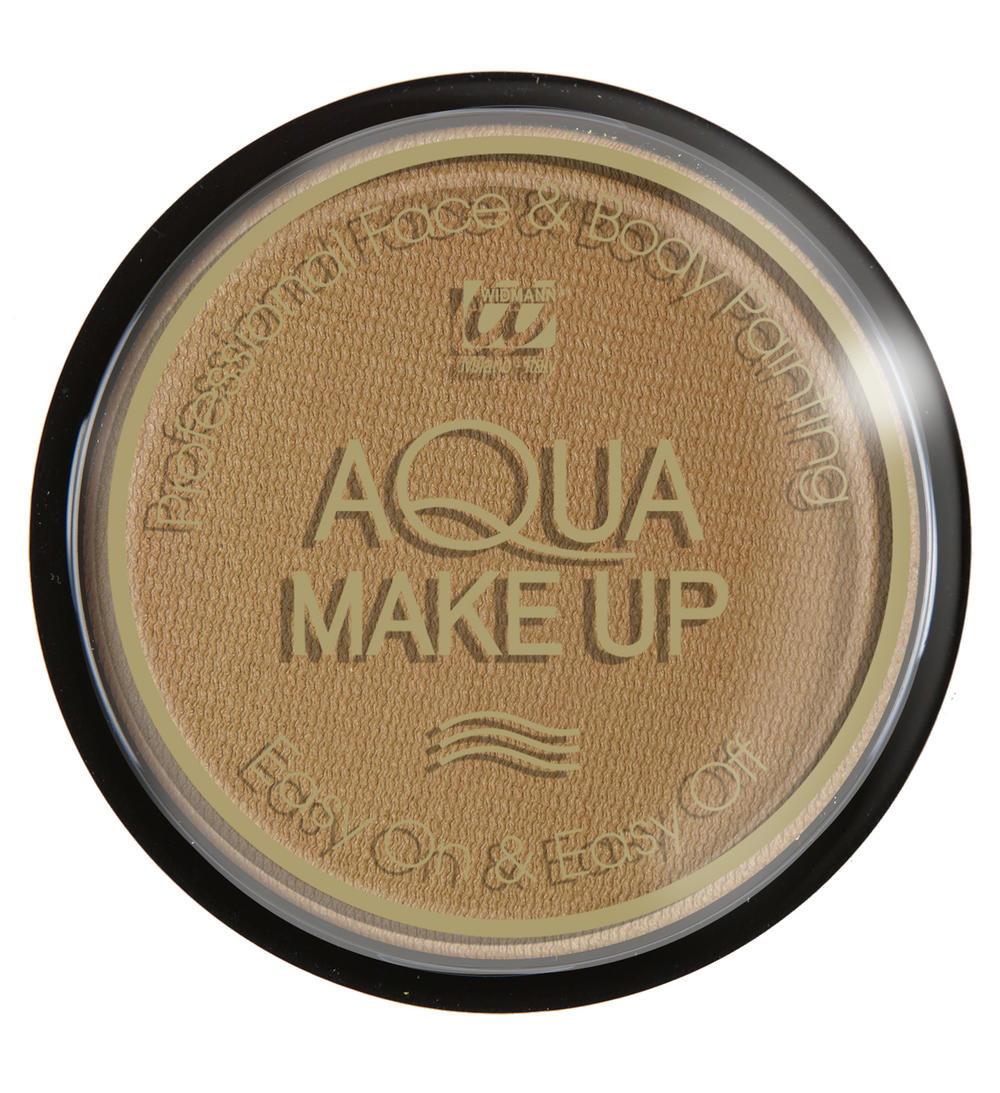 AQUA MAKE UP 15GR, DONKER BEIGE