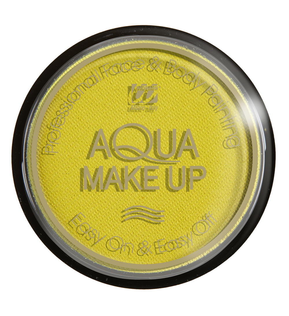AQUA MAKE UP 15GR, PASTEL GEEL