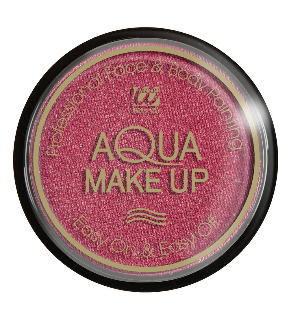 AQUA MAKE UP METALIC 15GR, ROSE