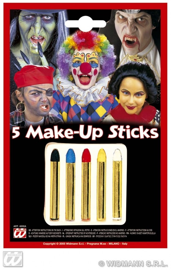 5 MAKE-UP STIFTEN