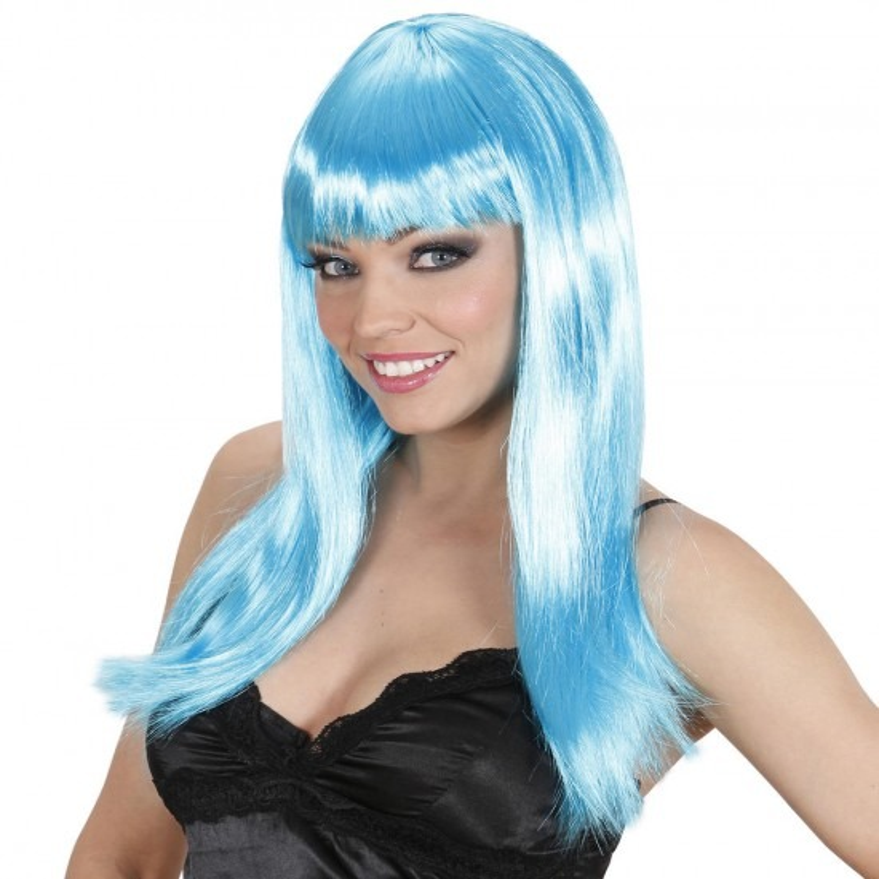 Pruik, Beautiful Blauw