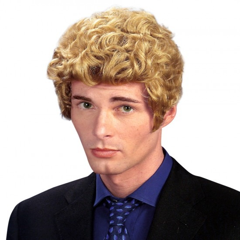 Pruik Brad Blond