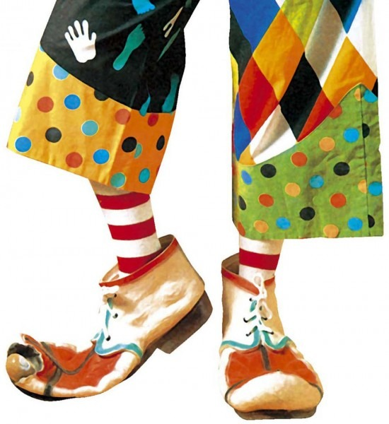 CLOWNSCHOENEN KIND, LATEX