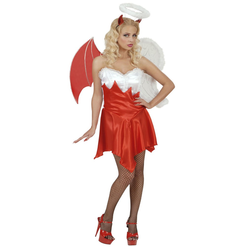 Engel Duiveltje Halloween Kleding Halloween Themafeesten
