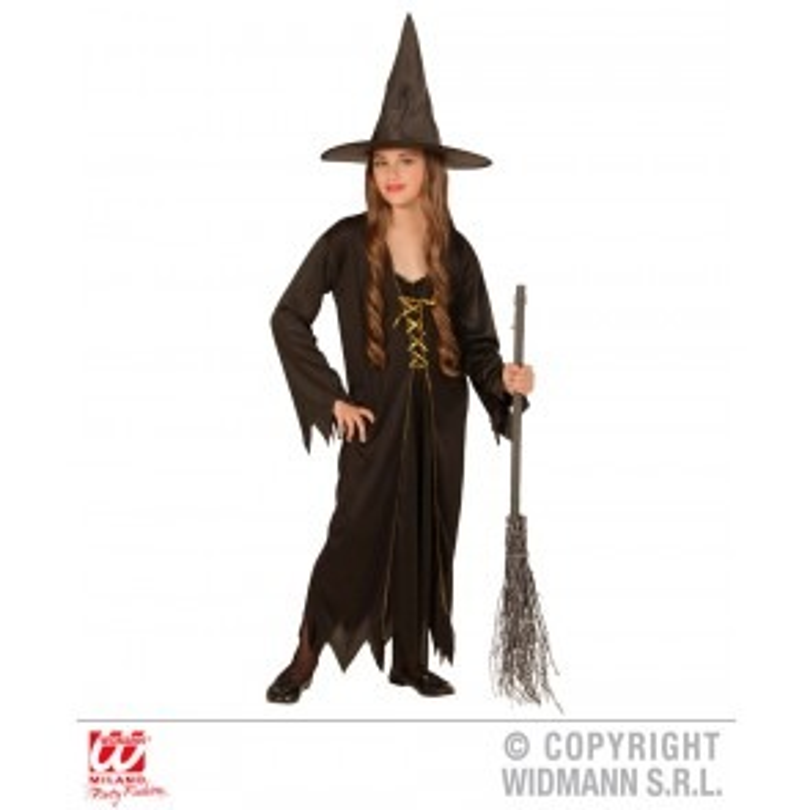 Heksen jurk kind