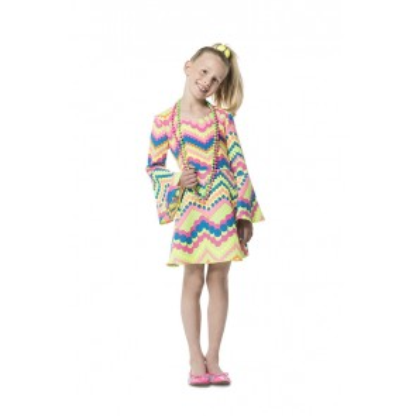 Gogo Girl Neon Bollen Turkoois/Pink