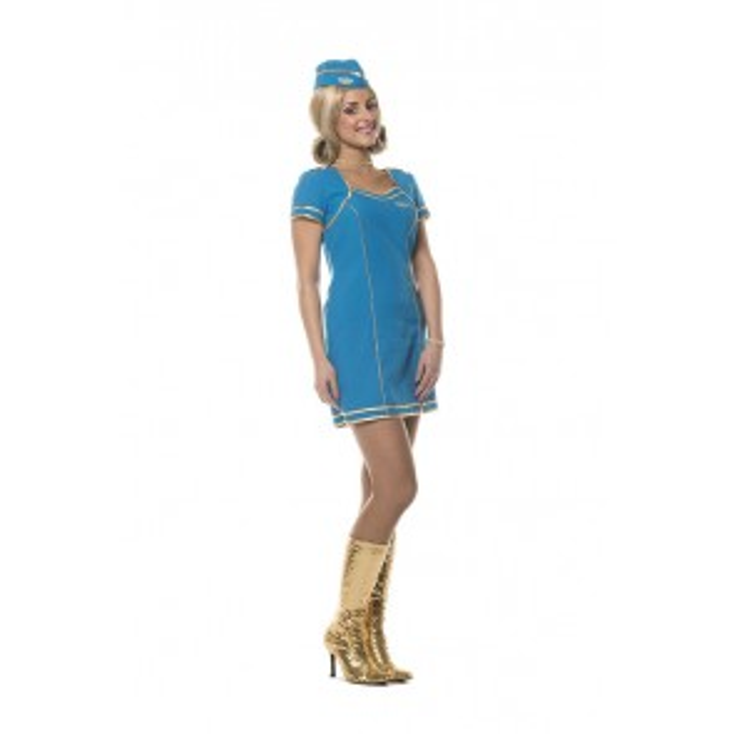 Stewardess Jurk Turkoois
