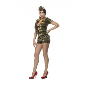 Catsuit Camouflage / Leger Catsuit