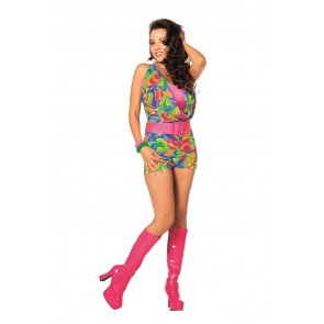 Disco Jumpsuite Kort