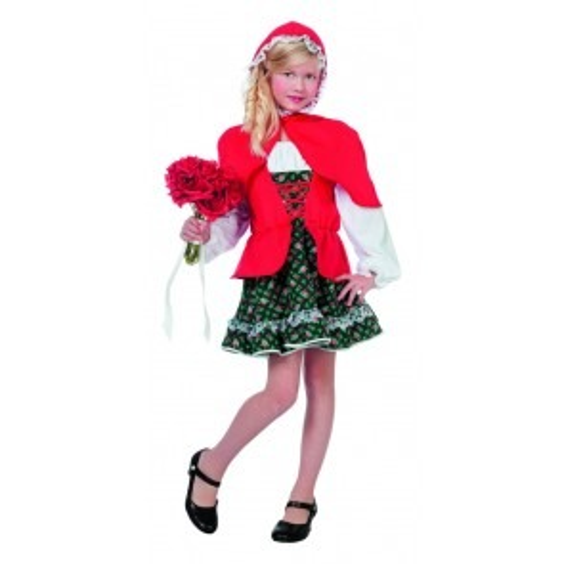 Meisje met rode cape (luxe)