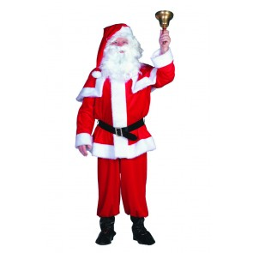 Kerstman im. fluweel