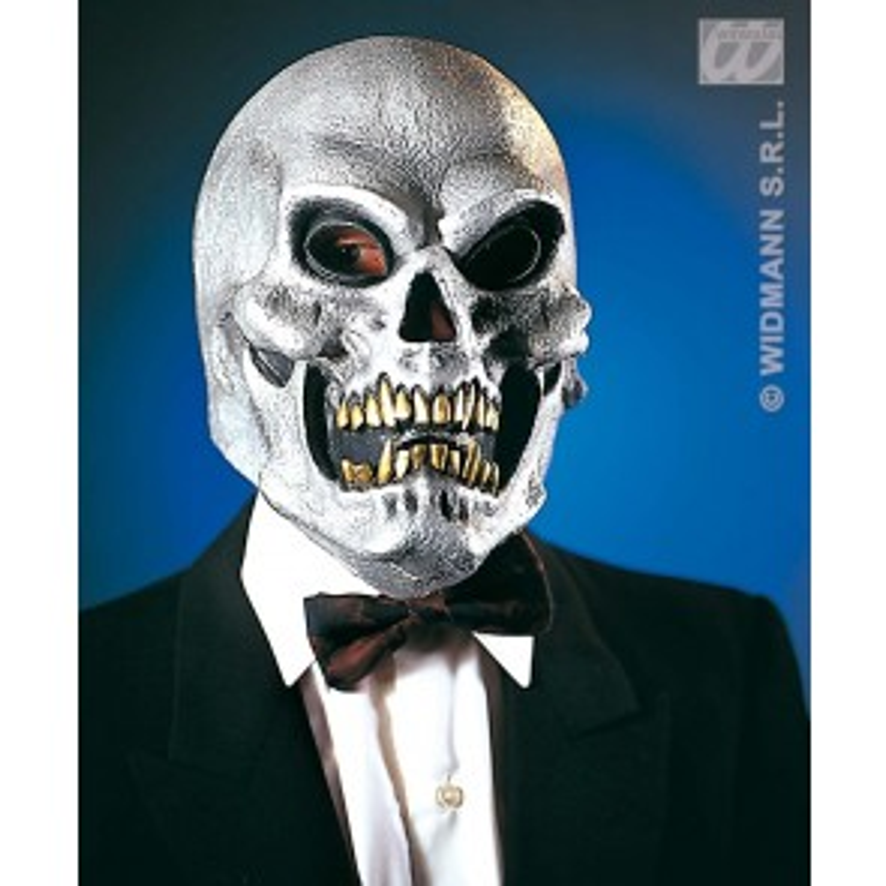 Schedel Masker Goud of Zilver