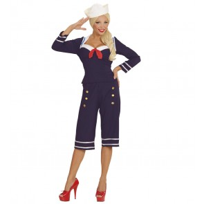 50's Pin Up Matroos Meisje