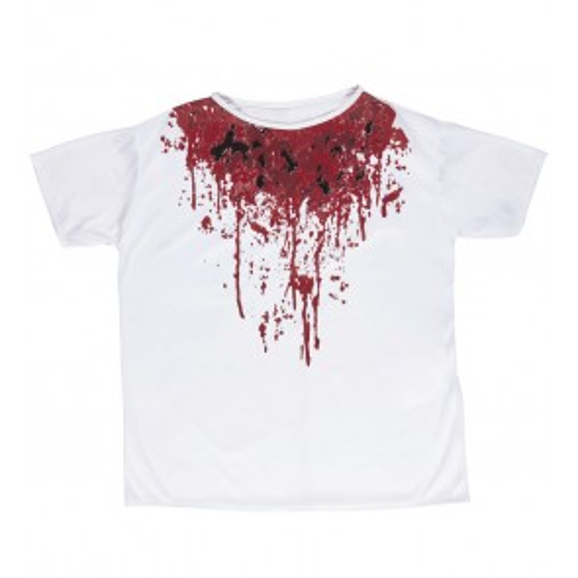 Shirt Halloween Bloed