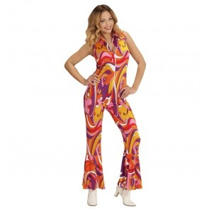 Groovy 70's Jumpsuit Orchidee