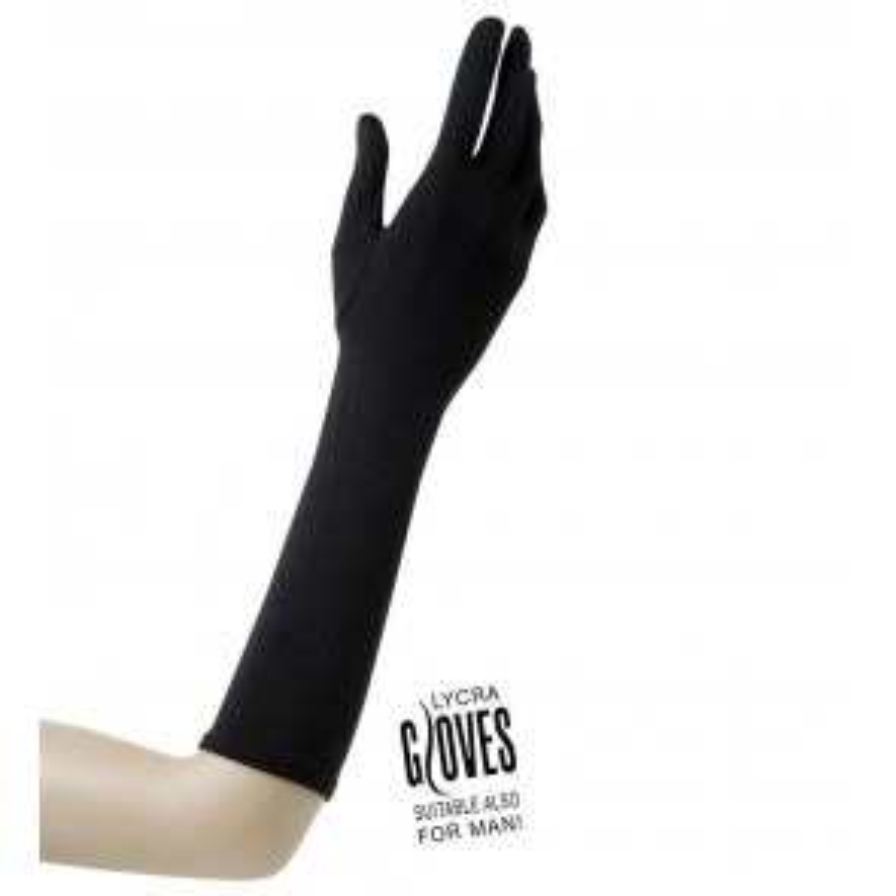 Handschoenen Lyca 37cm Zwart