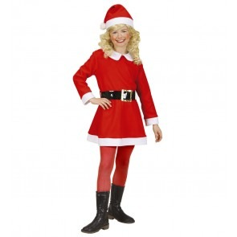 Kerstmeisje Santa Girl