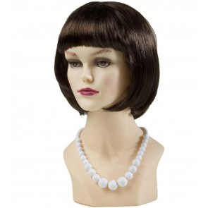 PARELKETTING 70'S, WIT