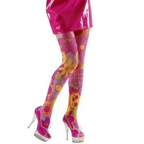 PANTY FLOWER POWER, ROSE XL, PANTY´S