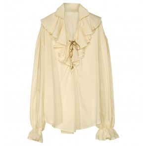 Piratenshirt Beige