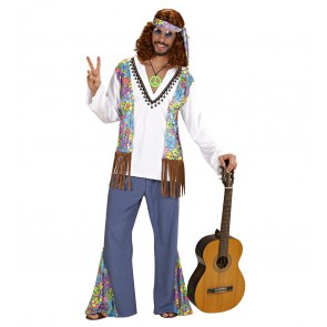 Hippie man, woodstock