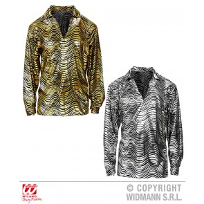 Disco fever shirt goud of zilver