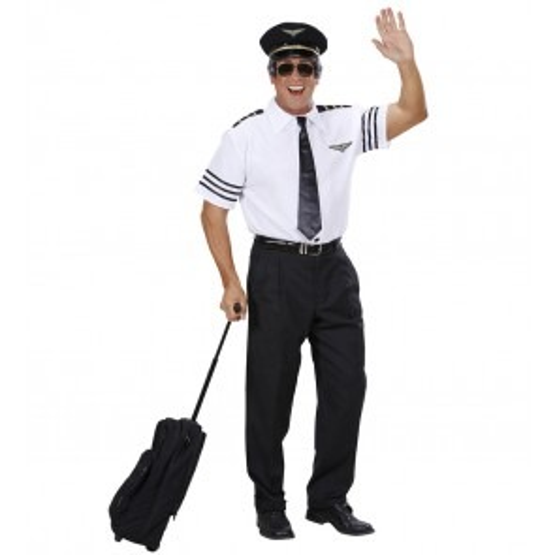Piloot met Stropdas