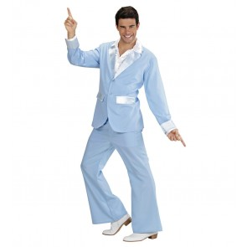 Party Kostuum/Pak, Licht Blauw