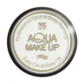 Aqua make-up 15 gram, wit