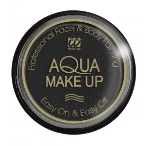 Aqua make-up 15 gram, zwart