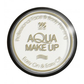 Aqua make-up 30 gram wit