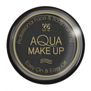 Aqua make-up 30 gram, zwart