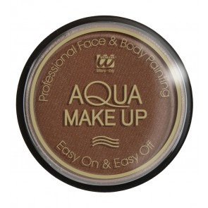 Aqua make-up 30 gram, bruin