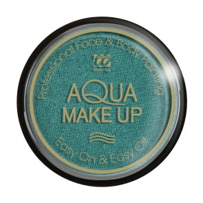 Aqua make-up 15 gram, metallic groen