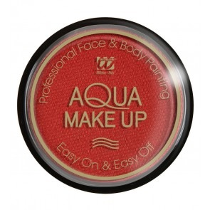 Aqua Make-Up Metallic Rood 15gr