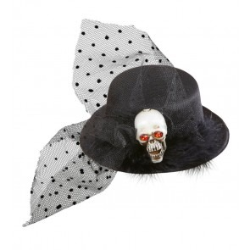 Mini hoge hoed schedel