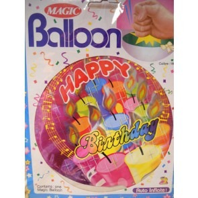 Zelf opblaasbare ballon