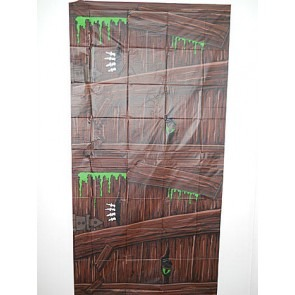 Halloween wooden door cover