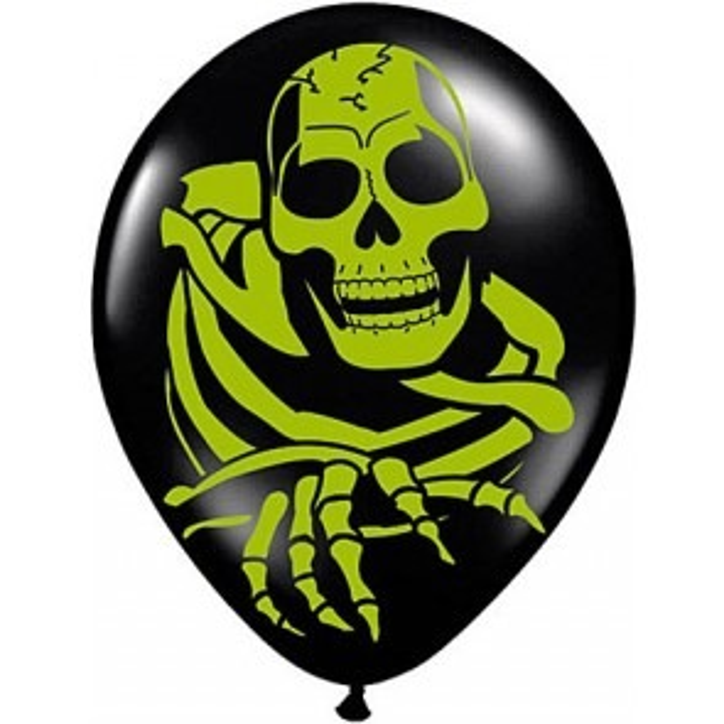 Doodskop ballonnen