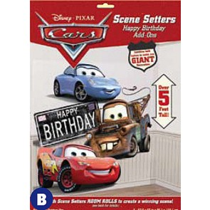 Cars Scene Setters Add-on: Happy Birthday