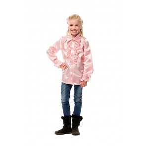 Ruche Blouse Baby Rose